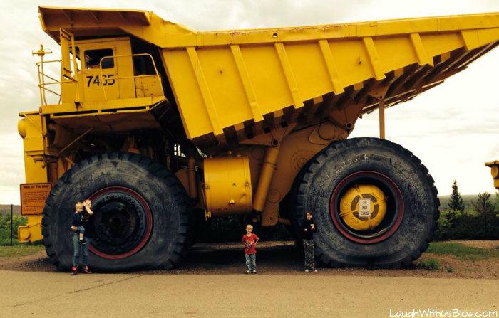Big mine trucks Virginia MN