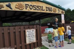 Fossil Dig at Dinosaur World Glen Rose, TX
