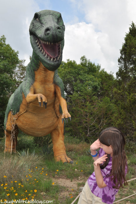Dinosaur World dino in Glen Rose #ad