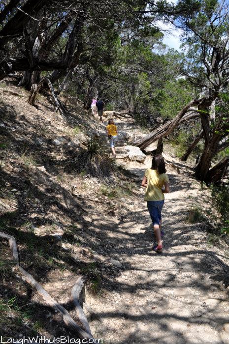 Hiking at Dinosaur Valley State Park