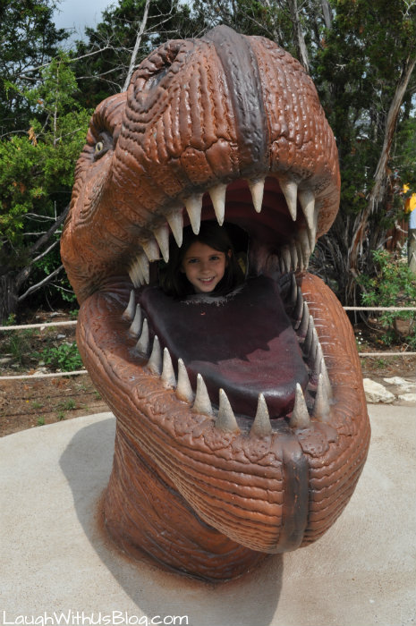 Roar at Dinosaur World #ad