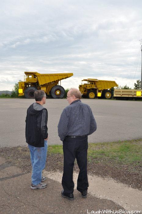 Virginia MN Mineview big trucks