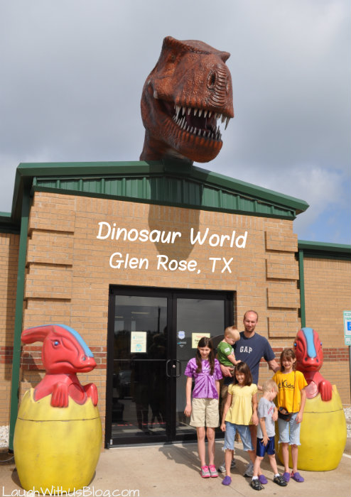 #ad Dinosaur World Glen Rose TX