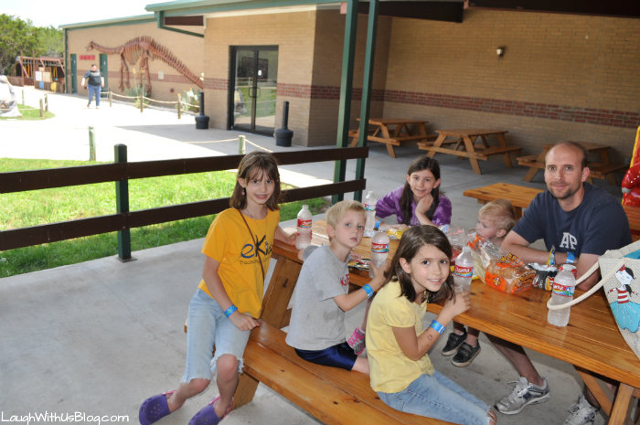 picnic at Dinosaur World Glen Rose #ad