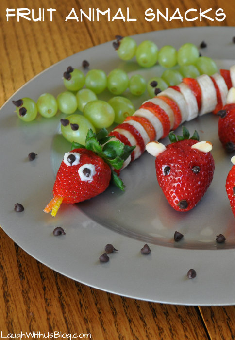 Fruit Animal Snacks #After SchoolSnacks #shop