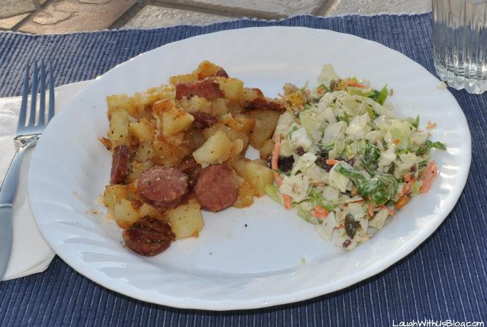 Sausage and Potatdo Skillet Dinner