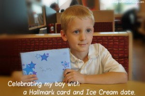Celebrating my boy with cards for kids!