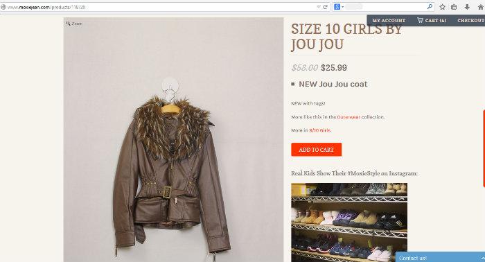 Moxie Jean website #MoxieBTS #sponsored