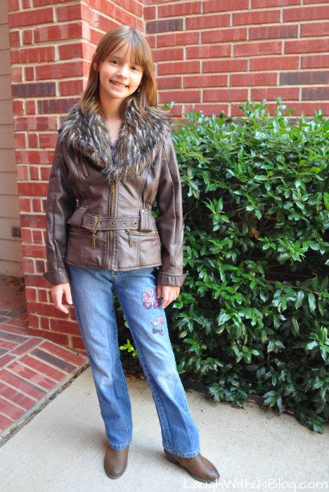 My jacket from Moxie Jean Upscale Resale #MoxieBTS #sponsored
