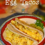 Quick and Easy Scrambled Egg Tacos