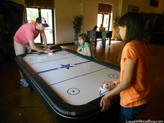 Southern Cross Ranch air hockey #ad
