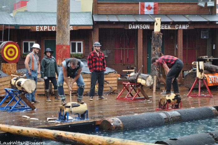 Alaska Lumberjack Show