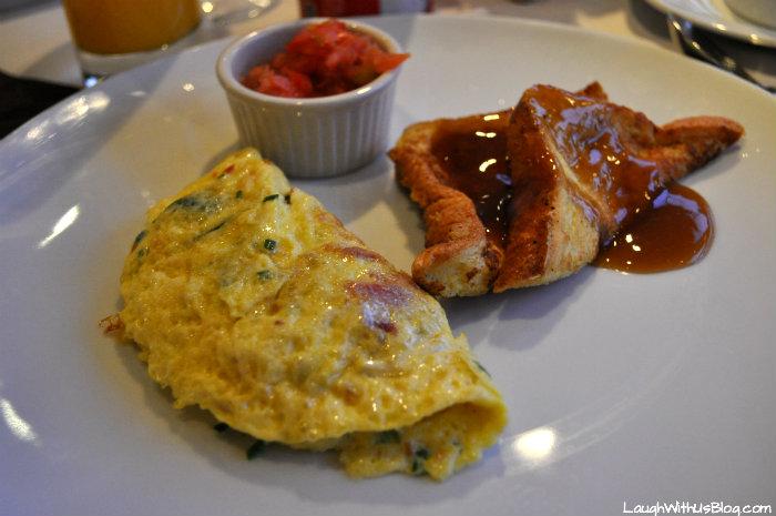 Celebrity Millennium Metropolitan Restaurant Breakfast omelette