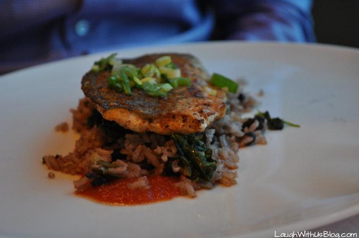 Celebrity Millennium Metropolitan Restaurant Chicken entree with rice