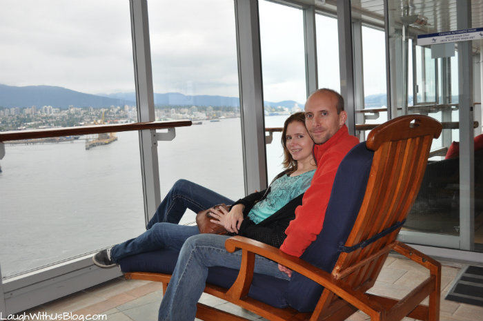 Enjoying the view Celebrity Millennium