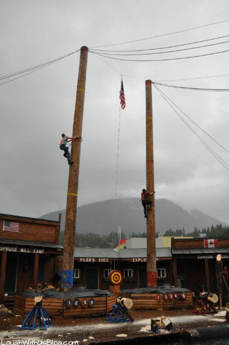 Real Lumberjacks Show Alaska