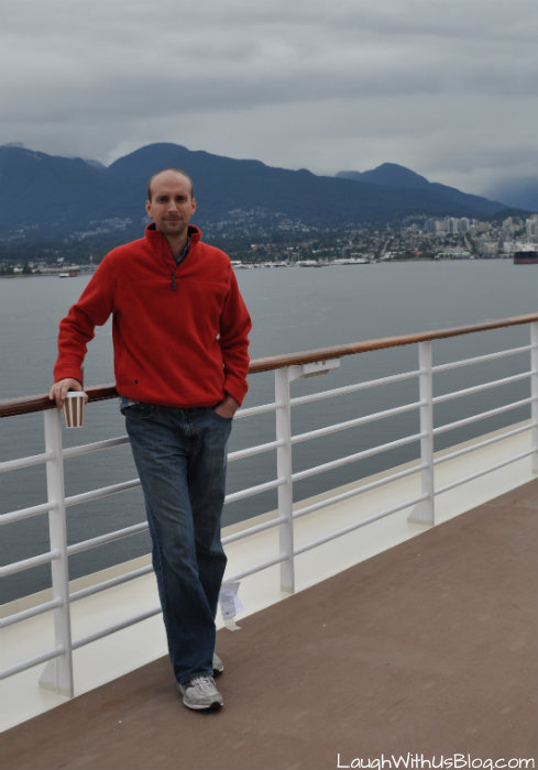 Sailing from Vancouver