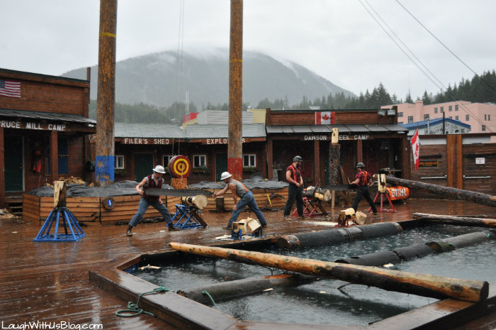 The Alaskan Lumberjack Show