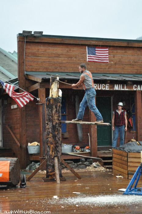The Great Alaskan Lumberjack show Ketchican