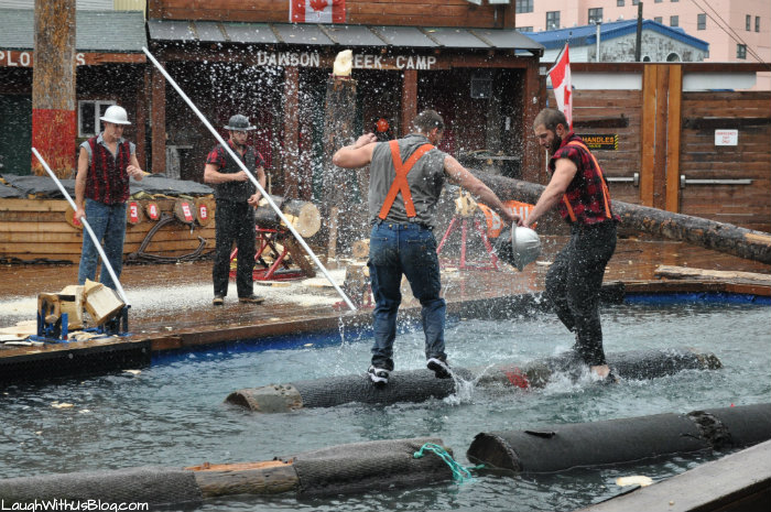 The Great American LumberJack Show in Ketchican