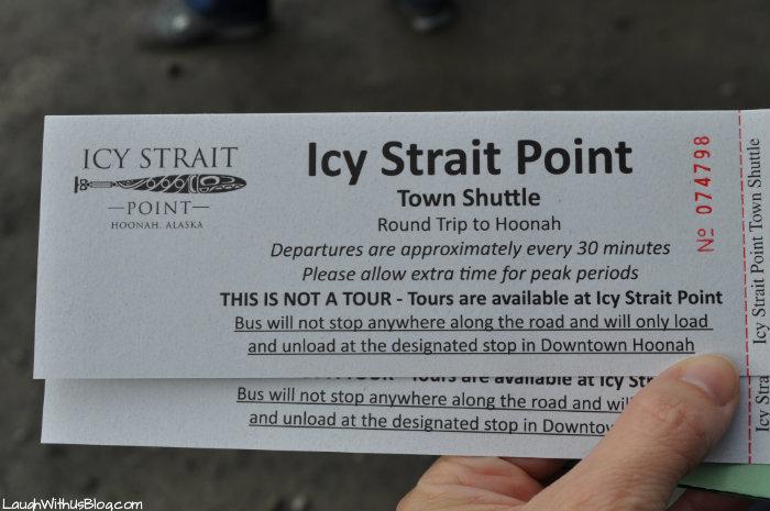 Ice Strait Point town shuttle
