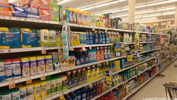 Kroger cleaning products #InstaClean #shop