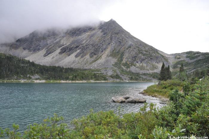 View of Upper Dewey Lake