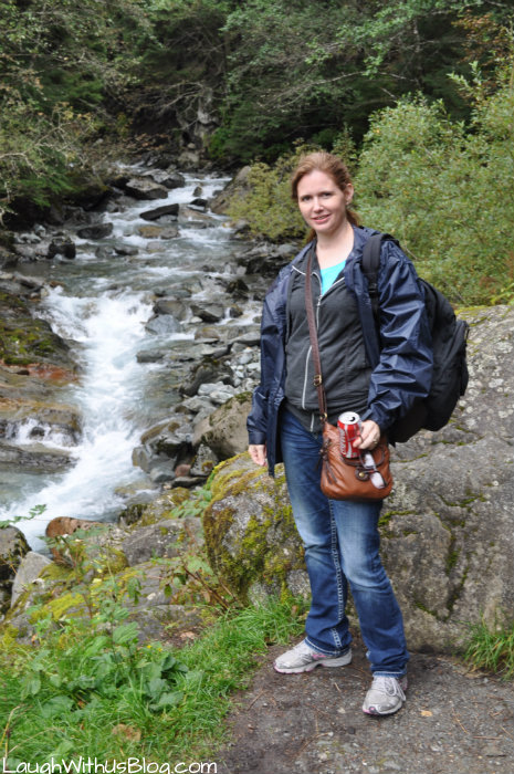 Water Stream in Juneau Alaska