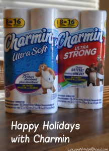 Happy Holidays with Charmin!