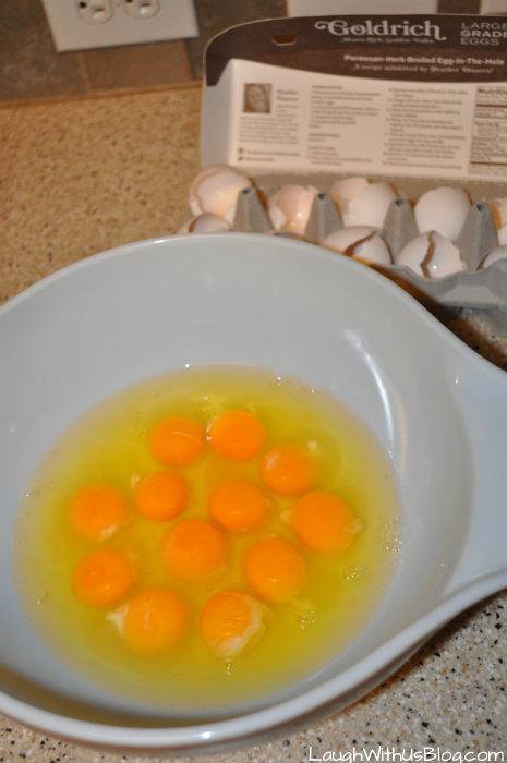 #GoldrichYolk eggs #ad