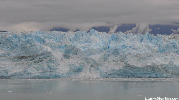 Hubbard Glacier capping