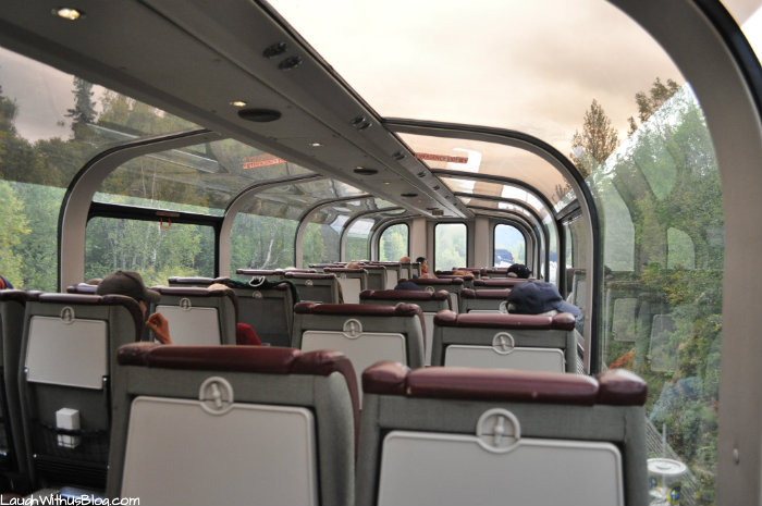 Alaska Railroad Goldstar dome