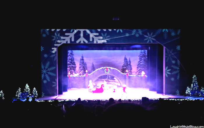 Christmas on Ice at Busch Gardens #ChristmasTown #sponsored