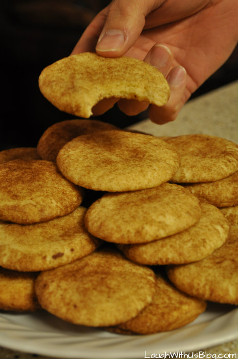 Melt in your mouth SNICKERDOODLES #GoldrichYolk #ad