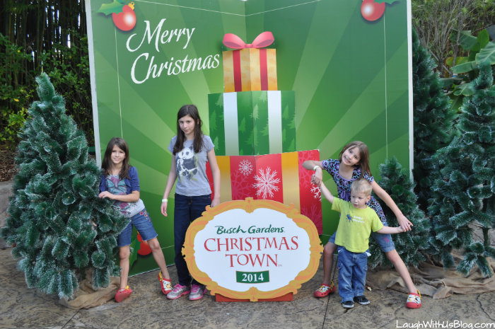 Merry Christmas at Busch Gardens #ChristmasTown #sponsored