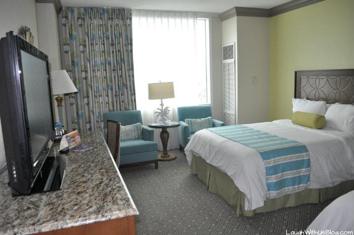 Moody Gardens Hotel room