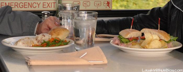 Our food Alaska Goldstar Dome Restaurant food
