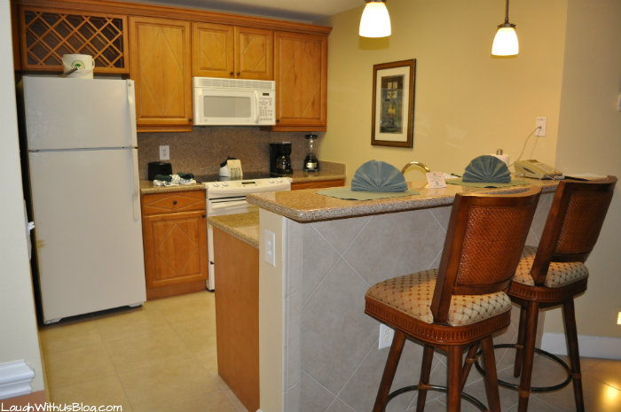 Cypress Pointe Resort Kitchen