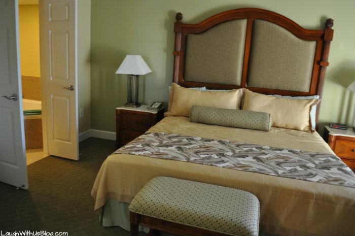 Cypress Pointe Resort Master bedroom