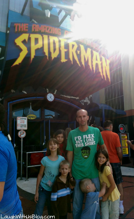 The Amazing Spider Man Islands of Adventure