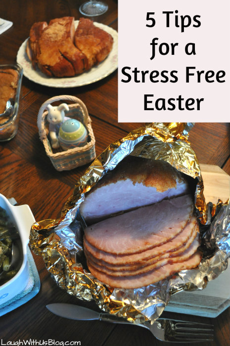 5 Tips for a Stress Free Easter #HoneyBakedEaster Meal #ad