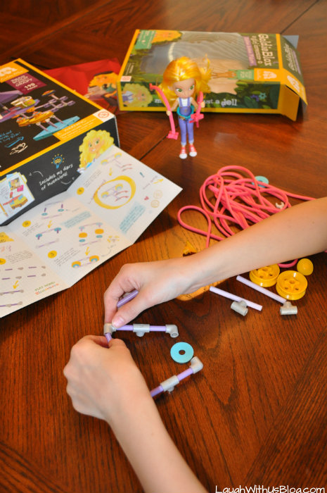 GoldieBlox Zipline Action Figure #GirlsNeedGoldie #ad