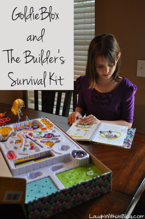 GoldieBlox and TheBuilder's Survival Kit #GirlsNeedGoldie #ad