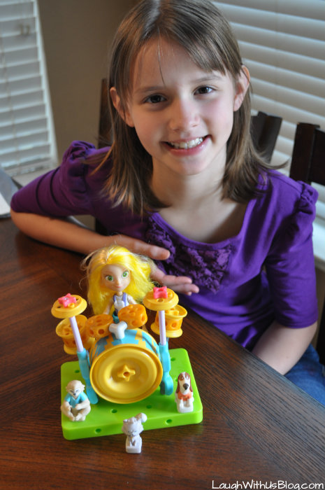 GoldieBlox and TheBuilder's Survival Kit Val's Drum Set #ad