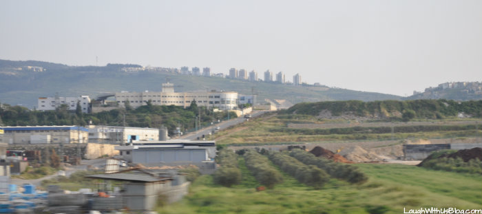 First sights of Israel