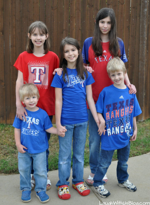 Ready for Opening Day Texas Rangers #MLBFanatics #ad