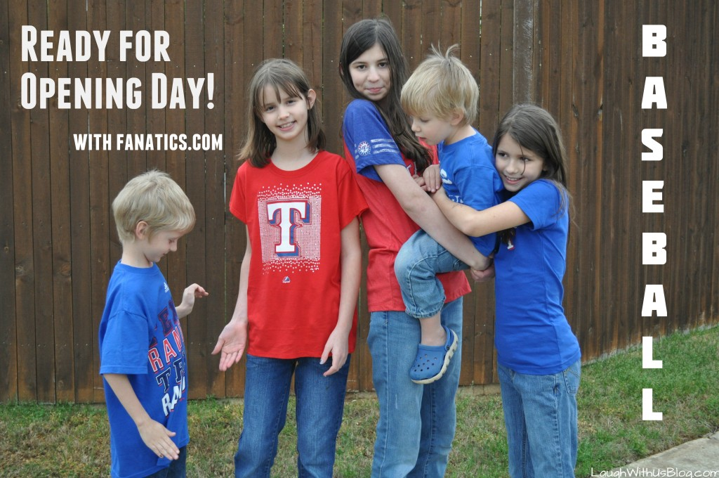 Ready for opening day with #MLBFanatics #CleverGirls #ad