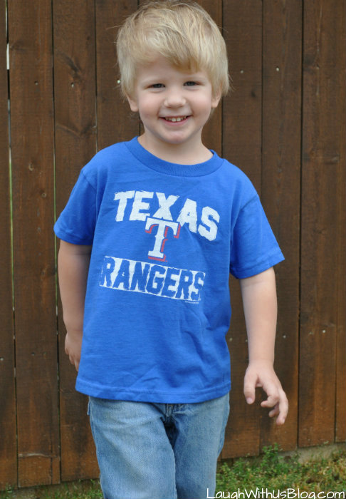 Texas Ranger 4 year old #MLBFanatics