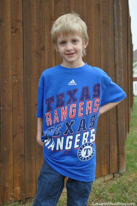 Texas Ranger 6 year old boy #ad #MLBFanatics