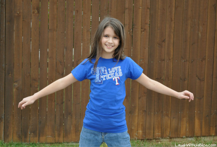Texas Rangers Gear 8 year old girl #MLBFanatics #ad